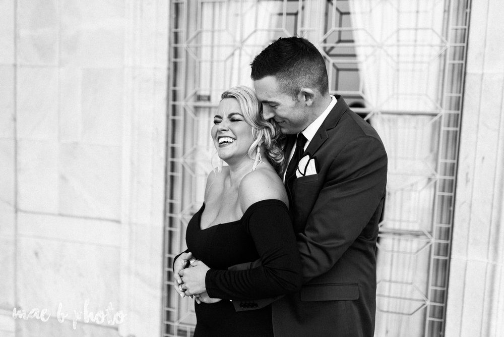 paige and cale's personalized winter glam engagement session at the butler institute of american art and downtown youngstown in youngstown ohio photographed by youngstown wedding photographer mae b photo-9.jpg