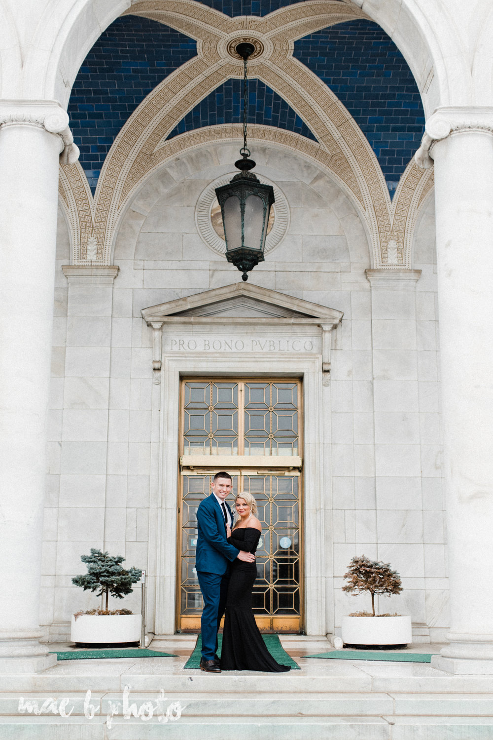 paige and cale's personalized winter glam engagement session at the butler institute of american art and downtown youngstown in youngstown ohio photographed by youngstown wedding photographer mae b photo-5.jpg