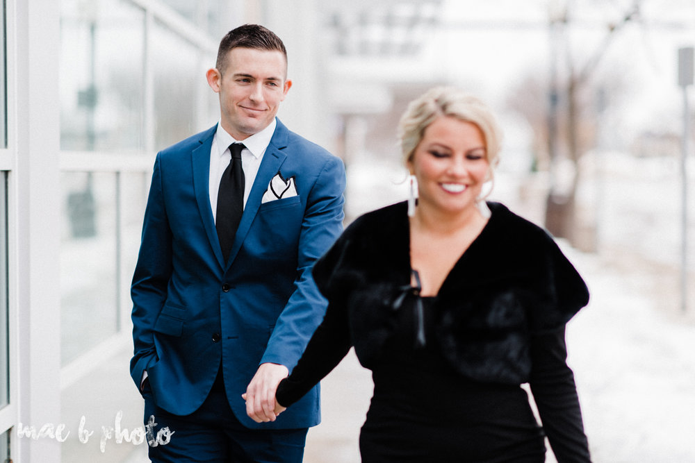 paige and cale's personalized winter glam engagement session at the butler institute of american art and downtown youngstown in youngstown ohio photographed by youngstown wedding photographer mae b photo-23.jpg