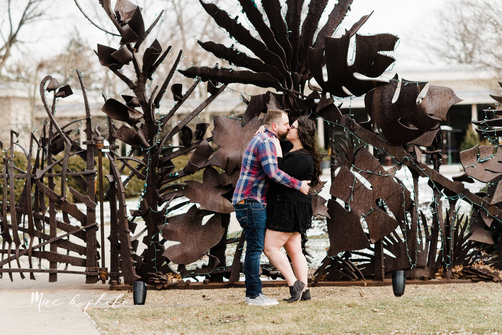 brad and kaitlin's winter museum engagement session at the cleveland museum of art and the cleveland natural history museum and the botanical gardens in cleveland ohio photographed by youngstown wedding photographer mae b photo-54.jpg