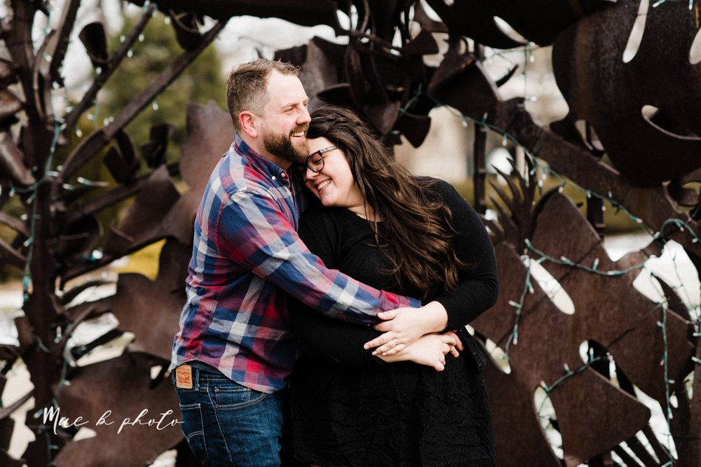 brad and kaitlin's winter museum engagement session at the cleveland museum of art and the cleveland natural history museum and the botanical gardens in cleveland ohio photographed by youngstown wedding photographer mae b photo-59.jpg