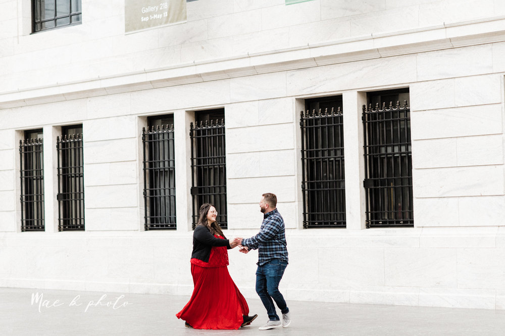 brad and kaitlin's winter museum engagement session at the cleveland museum of art and the cleveland natural history museum and the botanical gardens in cleveland ohio photographed by youngstown wedding photographer mae b photo-20.jpg