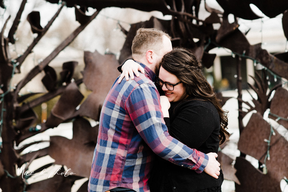 brad and kaitlin's winter museum engagement session at the cleveland museum of art and the cleveland natural history museum and the botanical gardens in cleveland ohio photographed by youngstown wedding photographer mae b photo-55.jpg