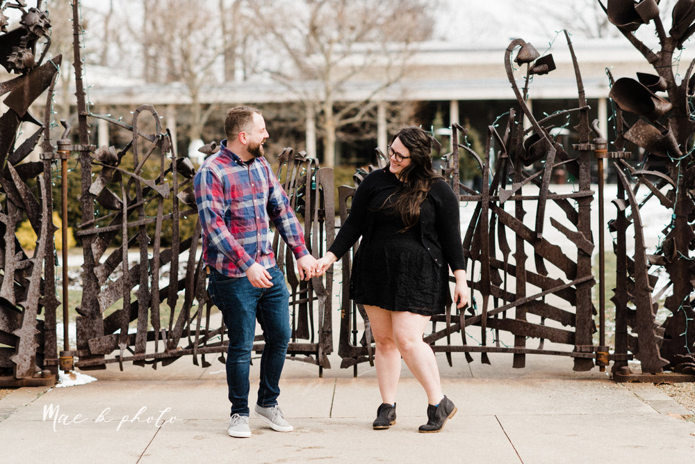 brad and kaitlin's winter museum engagement session at the cleveland museum of art and the cleveland natural history museum and the botanical gardens in cleveland ohio photographed by youngstown wedding photographer mae b photo-60.jpg