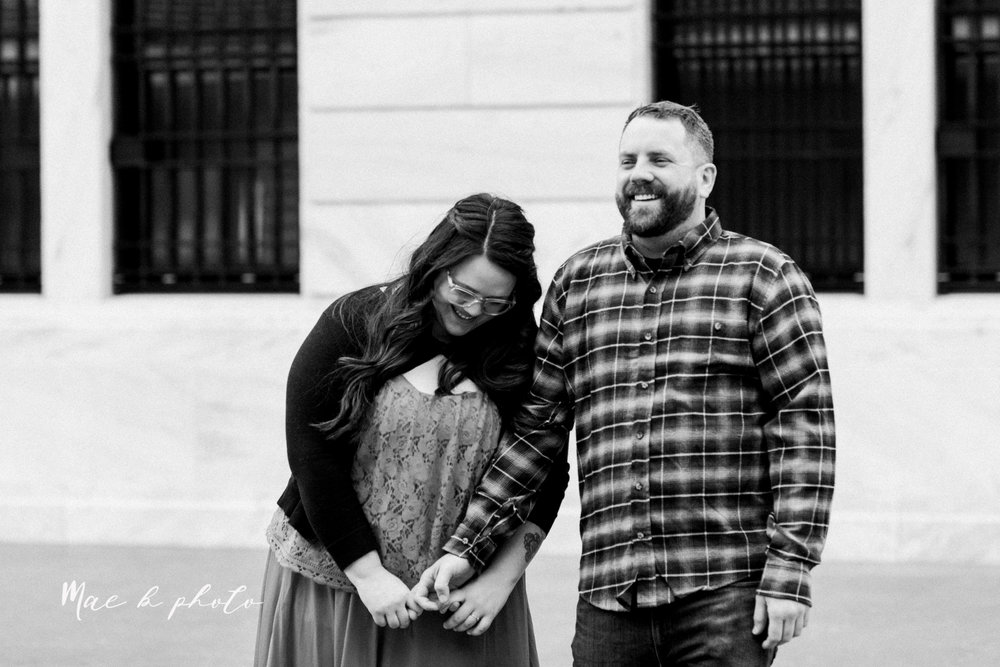 brad and kaitlin's winter museum engagement session at the cleveland museum of art and the cleveland natural history museum and the botanical gardens in cleveland ohio photographed by youngstown wedding photographer mae b photo-21.jpg