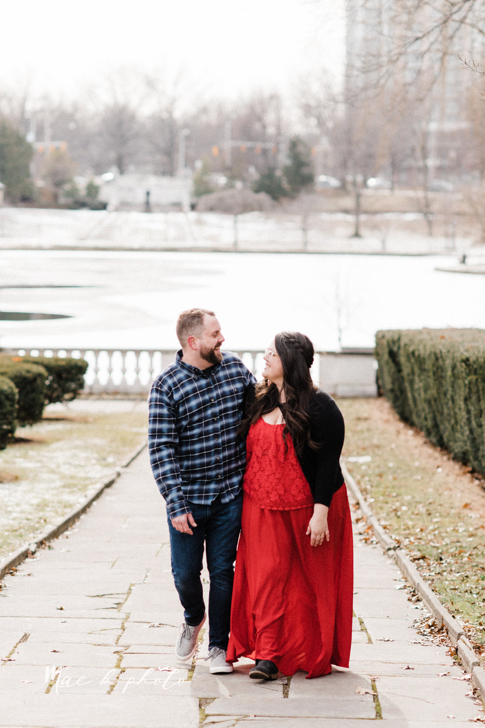 brad and kaitlin's winter museum engagement session at the cleveland museum of art and the cleveland natural history museum and the botanical gardens in cleveland ohio photographed by youngstown wedding photographer mae b photo-6.jpg