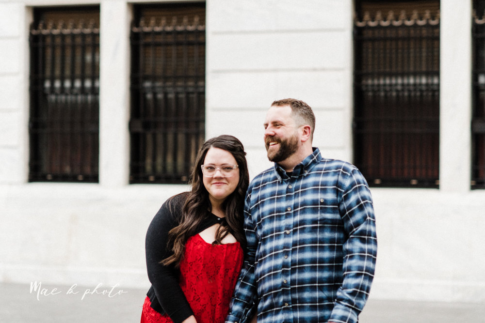 brad and kaitlin's winter museum engagement session at the cleveland museum of art and the cleveland natural history museum and the botanical gardens in cleveland ohio photographed by youngstown wedding photographer mae b photo-22.jpg