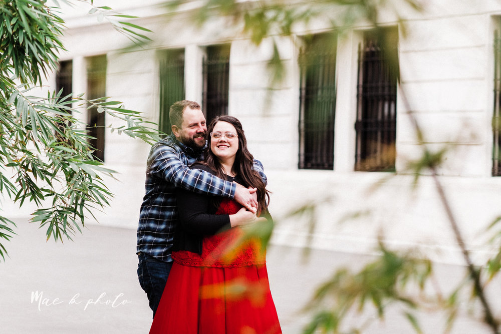 brad and kaitlin's winter museum engagement session at the cleveland museum of art and the cleveland natural history museum and the botanical gardens in cleveland ohio photographed by youngstown wedding photographer mae b photo-23.jpg