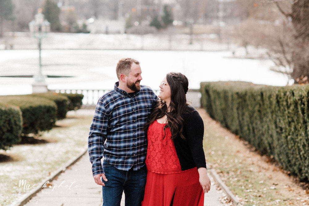brad and kaitlin's winter museum engagement session at the cleveland museum of art and the cleveland natural history museum and the botanical gardens in cleveland ohio photographed by youngstown wedding photographer mae b photo-7.jpg