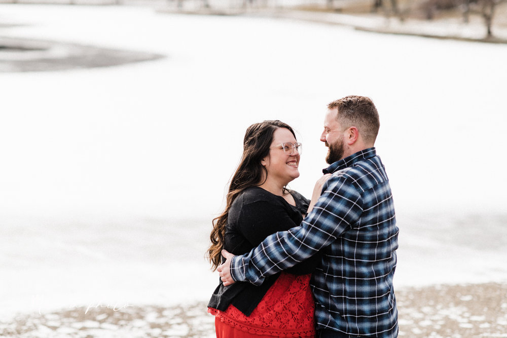 brad and kaitlin's winter museum engagement session at the cleveland museum of art and the cleveland natural history museum and the botanical gardens in cleveland ohio photographed by youngstown wedding photographer mae b photo-4.jpg