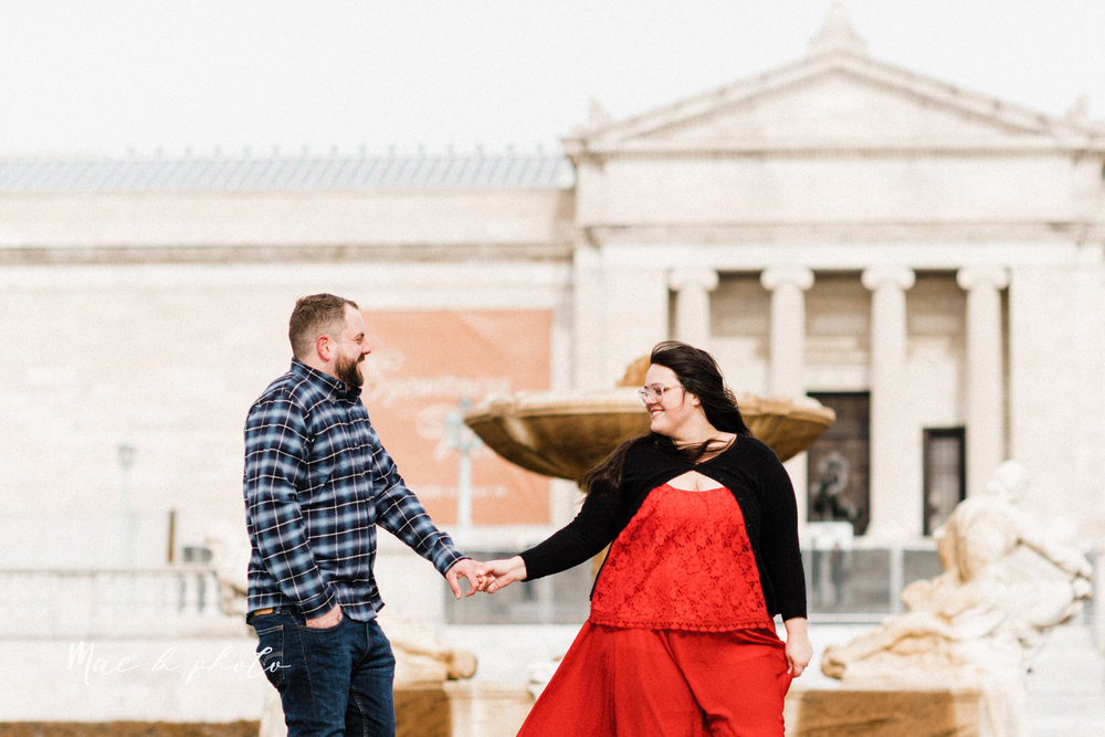brad and kaitlin's winter museum engagement session at the cleveland museum of art and the cleveland natural history museum and the botanical gardens in cleveland ohio photographed by youngstown wedding photographer mae b photo-11.jpg