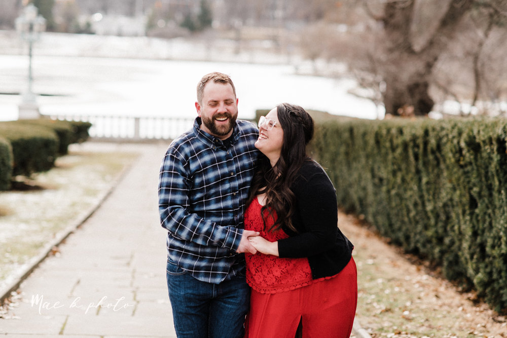 brad and kaitlin's winter museum engagement session at the cleveland museum of art and the cleveland natural history museum and the botanical gardens in cleveland ohio photographed by youngstown wedding photographer mae b photo-8.jpg