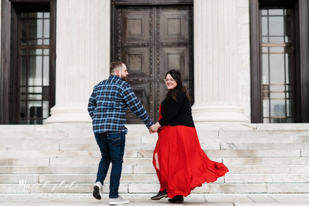 brad and kaitlin's winter museum engagement session at the cleveland museum of art and the cleveland natural history museum and the botanical gardens in cleveland ohio photographed by youngstown wedding photographer mae b photo-12.jpg