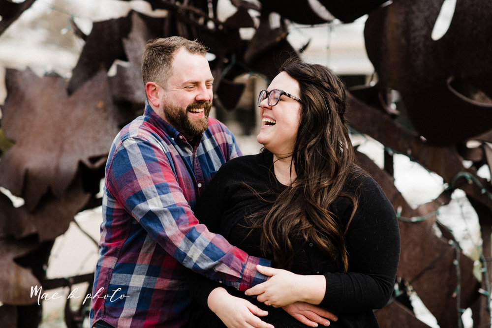 brad and kaitlin's winter museum engagement session at the cleveland museum of art and the cleveland natural history museum and the botanical gardens in cleveland ohio photographed by youngstown wedding photographer mae b photo-57.jpg