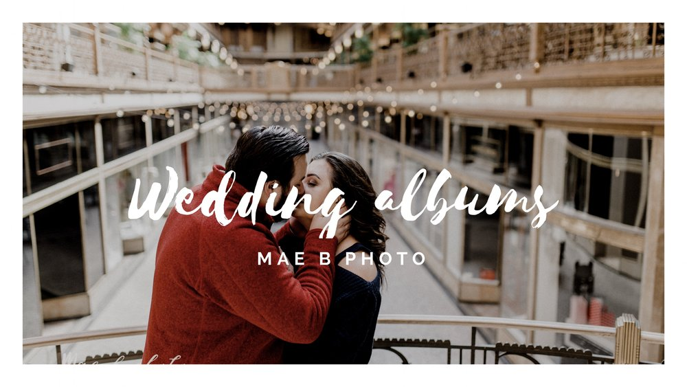 Learn About Wedding Album Cover Options And Boutique Bags Mae B