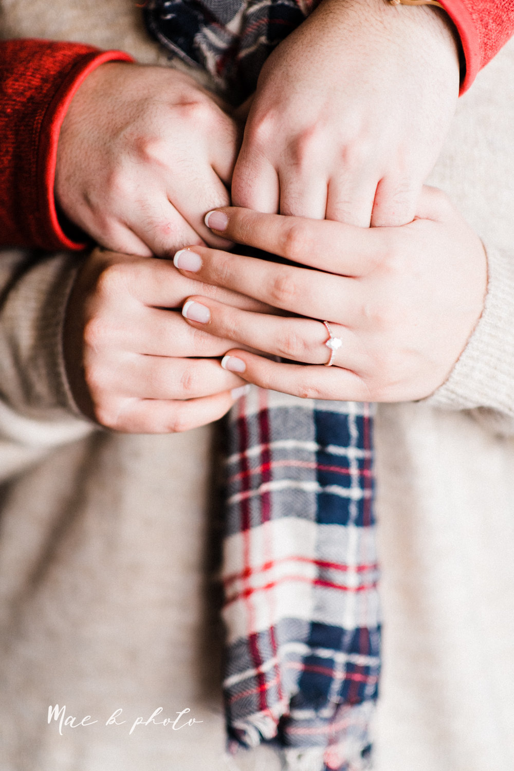 casey and matthew's personal winter cleveland engagement session at the clevelander and east fourth street and edgewater park in cleveland ohio photographed by youngstown wedding photographer mae b photo-16.jpg