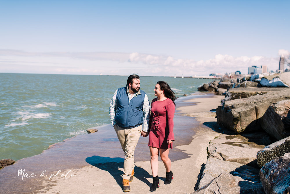 casey and matthew's personal winter cleveland engagement session at the clevelander and east fourth street and edgewater park in cleveland ohio photographed by youngstown wedding photographer mae b photo-40.jpg