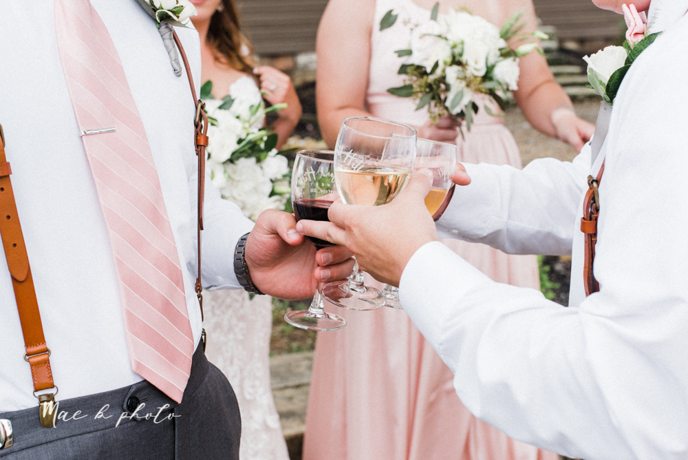 morgan and ryan's intimate outdoor summer winery midwest wedding at hartford hill winery and doubletree by hilton youngstown downtown in hartford ohio photographed by youngstown wedding photographer mae b photo-75.jpg