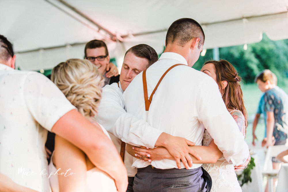 morgan and ryan's intimate outdoor summer winery midwest wedding at hartford hill winery and doubletree by hilton youngstown downtown in hartford ohio photographed by youngstown wedding photographer mae b photo-146.jpg
