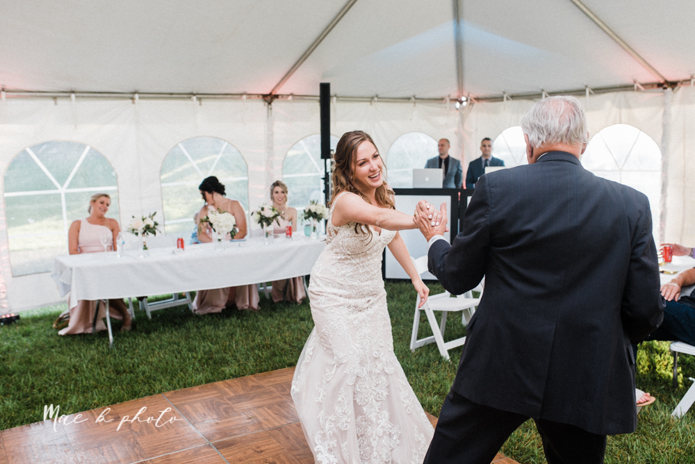 morgan and ryan's intimate outdoor summer winery midwest wedding at hartford hill winery and doubletree by hilton youngstown downtown in hartford ohio photographed by youngstown wedding photographer mae b photo-122.jpg