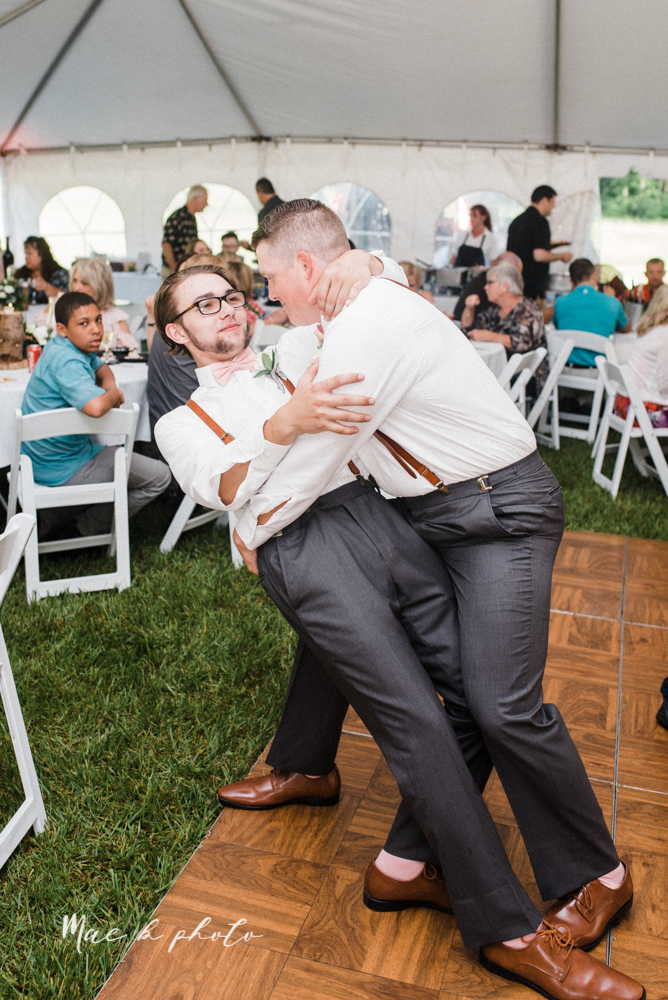 morgan and ryan's intimate outdoor summer winery midwest wedding at hartford hill winery and doubletree by hilton youngstown downtown in hartford ohio photographed by youngstown wedding photographer mae b photo-110.jpg