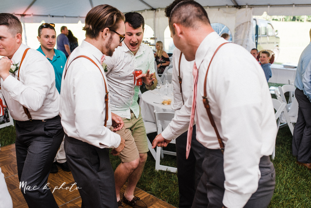 morgan and ryan's intimate outdoor summer winery midwest wedding at hartford hill winery and doubletree by hilton youngstown downtown in hartford ohio photographed by youngstown wedding photographer mae b photo-124.jpg