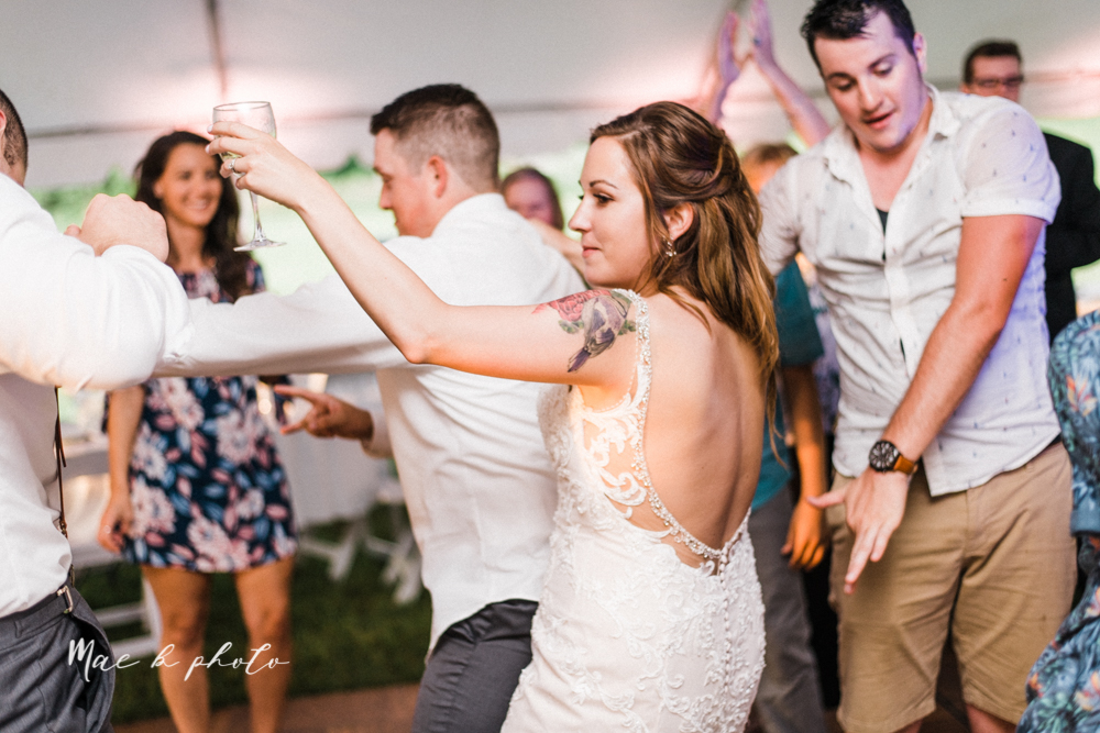 morgan and ryan's intimate outdoor summer winery midwest wedding at hartford hill winery and doubletree by hilton youngstown downtown in hartford ohio photographed by youngstown wedding photographer mae b photo-154.jpg
