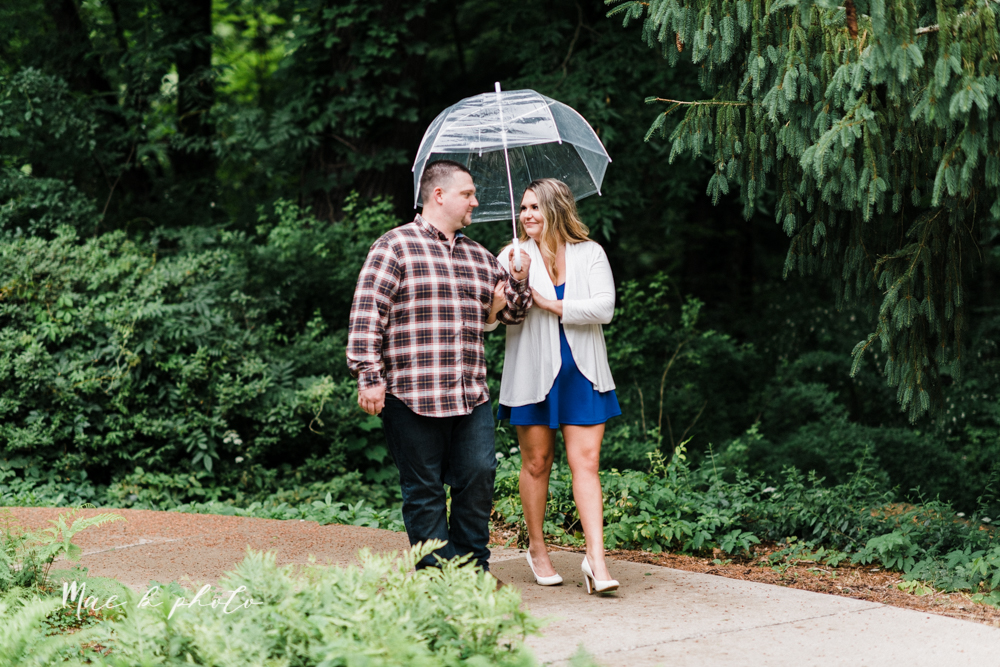 elizabeth and dan's rainy summer engagement session at ford nature center in mill creek park and whistle and keg bar in downtown youngstown ohio photographed by youngstown wedding photographer mae b photo-13.jpg
