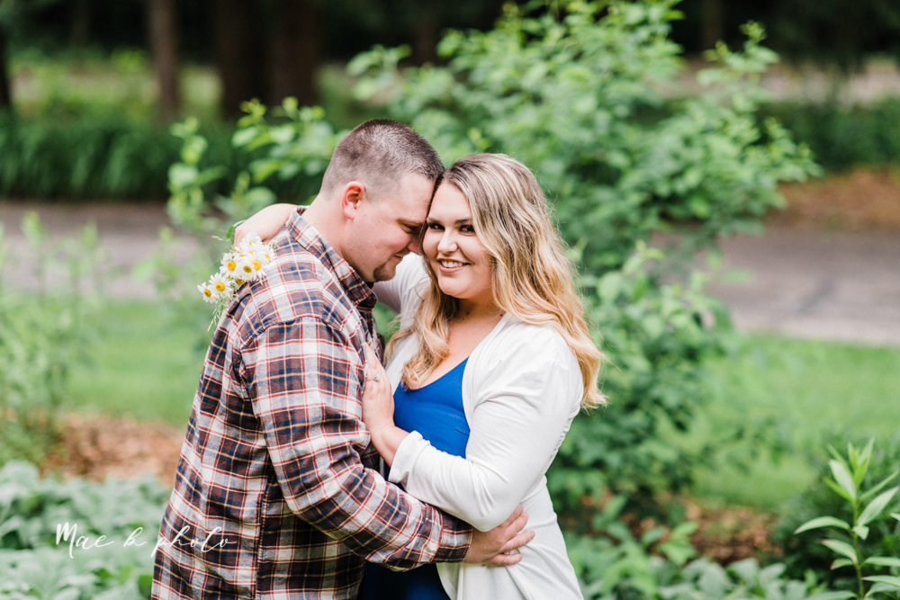 elizabeth and dan's rainy summer engagement session at ford nature center in mill creek park and whistle and keg bar in downtown youngstown ohio photographed by youngstown wedding photographer mae b photo-3.jpg