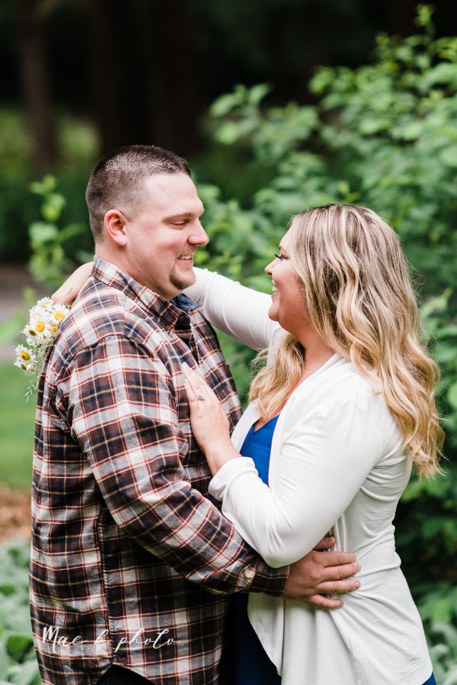 elizabeth and dan's rainy summer engagement session at ford nature center in mill creek park and whistle and keg bar in downtown youngstown ohio photographed by youngstown wedding photographer mae b photo-1.jpg