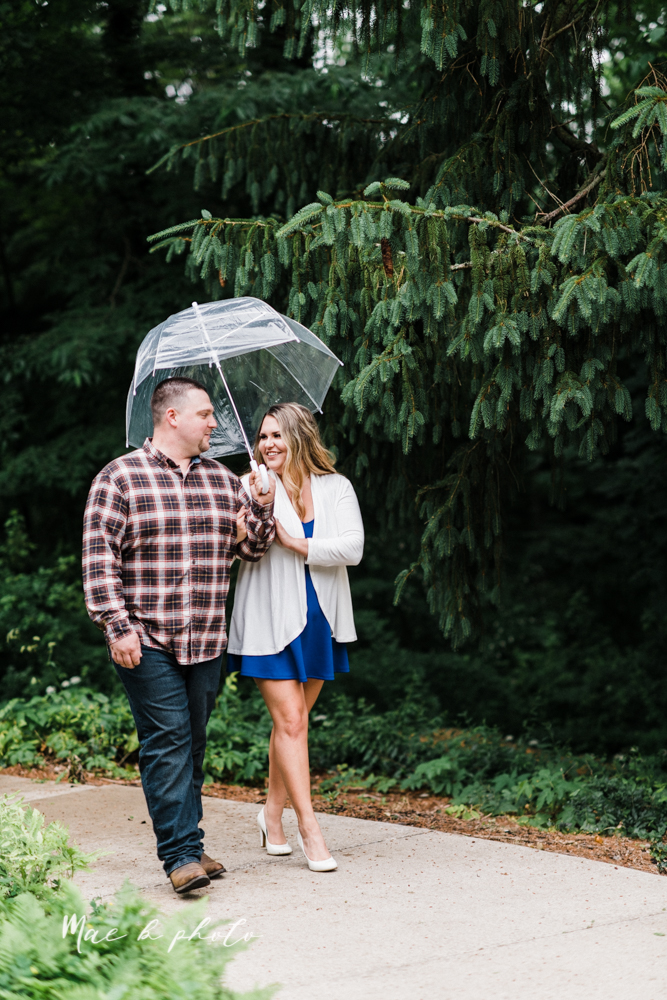 elizabeth and dan's rainy summer engagement session at ford nature center in mill creek park and whistle and keg bar in downtown youngstown ohio photographed by youngstown wedding photographer mae b photo-14.jpg