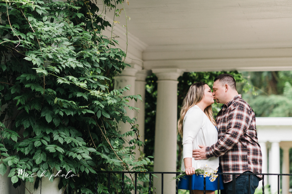 elizabeth and dan's rainy summer engagement session at ford nature center in mill creek park and whistle and keg bar in downtown youngstown ohio photographed by youngstown wedding photographer mae b photo-25.jpg