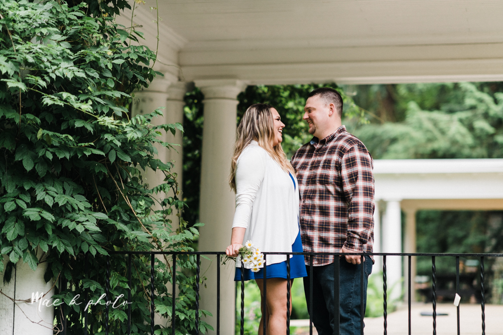 elizabeth and dan's rainy summer engagement session at ford nature center in mill creek park and whistle and keg bar in downtown youngstown ohio photographed by youngstown wedding photographer mae b photo-24.jpg