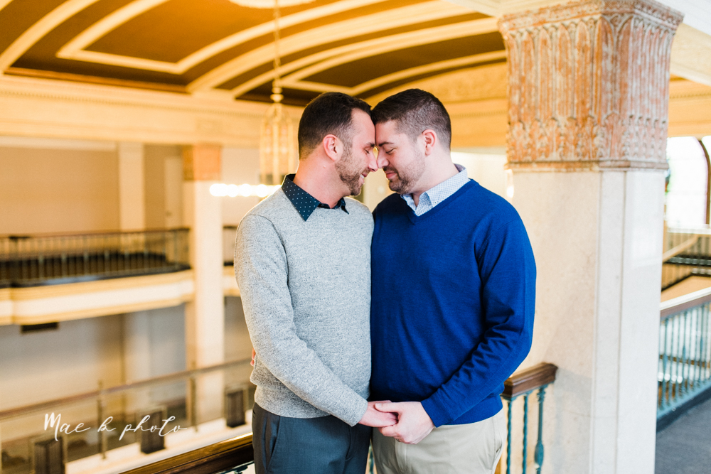 marcus+and+anthony's+same+sex+winter+lifestyle+in+home+engagement+session+at+the+chase+building+in+downtown+warren+ohio+and+at+their+home+in+niles+ohio+photographed+by+youngstown+wedding+photographer+mae+b+photo-9.jpg
