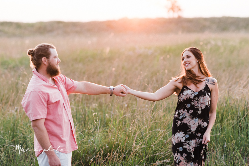 chelsea and jared's summer beach engagement session family session at headlands beach state park in mentor ohio photographed by youngstown wedding photographer mae b photo-32.jpg