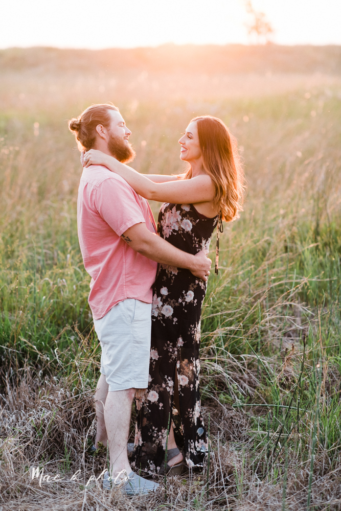chelsea and jared's summer beach engagement session family session at headlands beach state park in mentor ohio photographed by youngstown wedding photographer mae b photo-28.jpg