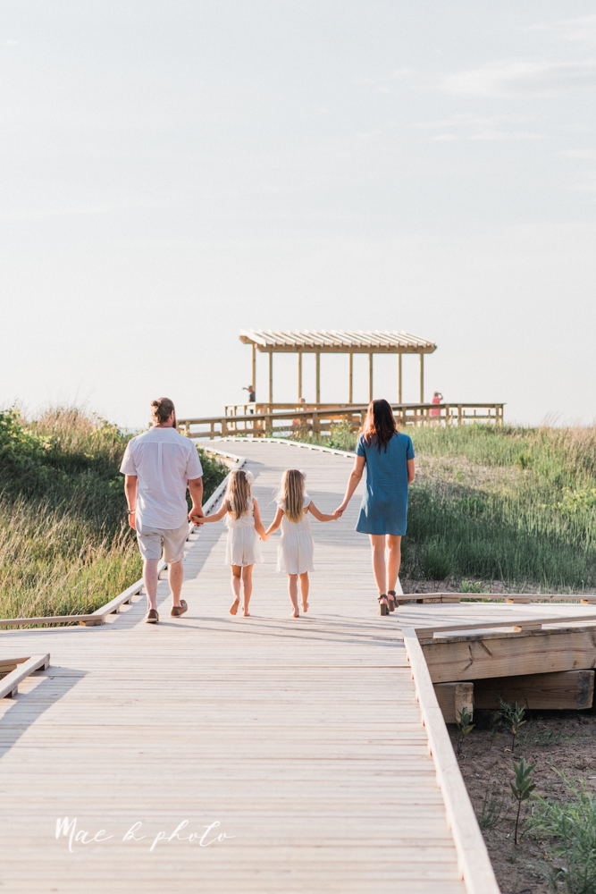 chelsea and jared's summer beach engagement session family session at headlands beach state park in mentor ohio photographed by youngstown wedding photographer mae b photo-15.jpg