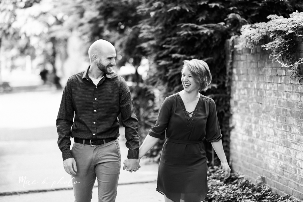 taylor and jame's summer engagement session in german village the loft bookstore and schiller park in columbus ohio photographed by youngstown wedding photographer mae b photo-1.jpg