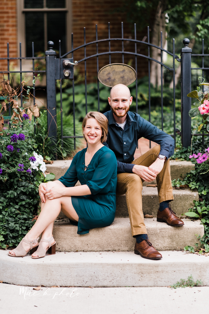 taylor and jame's summer engagement session in german village the loft bookstore and schiller park in columbus ohio photographed by youngstown wedding photographer mae b photo-31.jpg