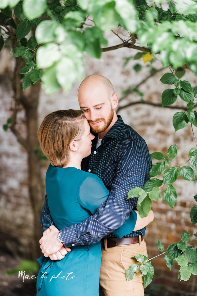 taylor and jame's summer engagement session in german village the loft bookstore and schiller park in columbus ohio photographed by youngstown wedding photographer mae b photo-25.jpg