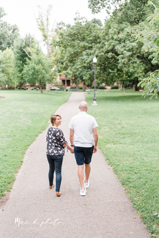 taylor and jame's summer engagement session in german village the loft bookstore and schiller park in columbus ohio photographed by youngstown wedding photographer mae b photo-36.jpg