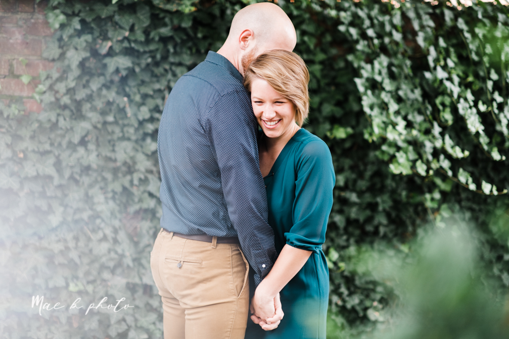 taylor and jame's summer engagement session in german village the loft bookstore and schiller park in columbus ohio photographed by youngstown wedding photographer mae b photo-5.jpg