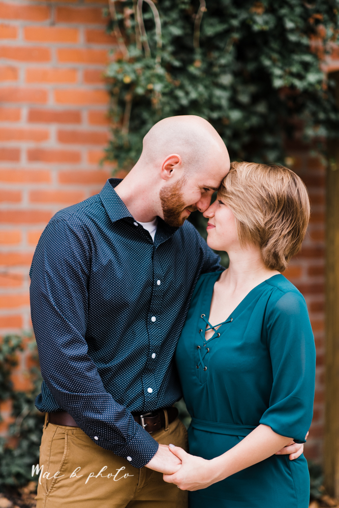 taylor and jame's summer engagement session in german village the loft bookstore and schiller park in columbus ohio photographed by youngstown wedding photographer mae b photo-29.jpg