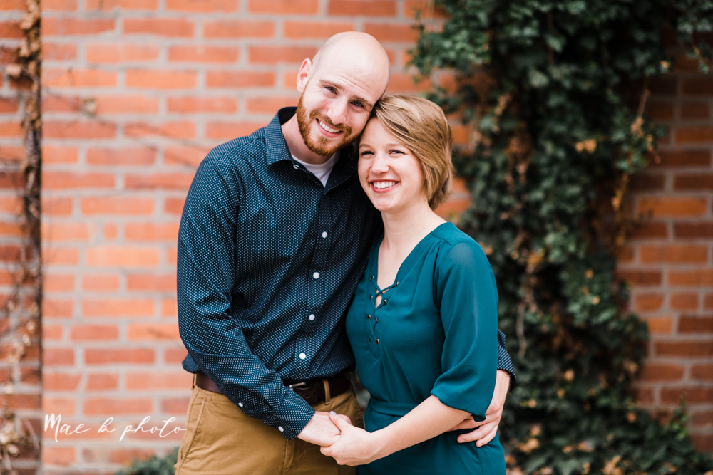taylor and jame's summer engagement session in german village the loft bookstore and schiller park in columbus ohio photographed by youngstown wedding photographer mae b photo-28.jpg