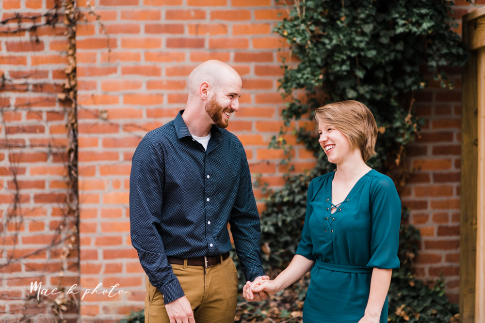taylor and jame's summer engagement session in german village the loft bookstore and schiller park in columbus ohio photographed by youngstown wedding photographer mae b photo-30.jpg