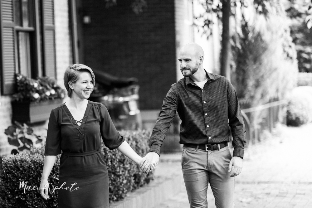 taylor and jame's summer engagement session in german village the loft bookstore and schiller park in columbus ohio photographed by youngstown wedding photographer mae b photo-22.jpg