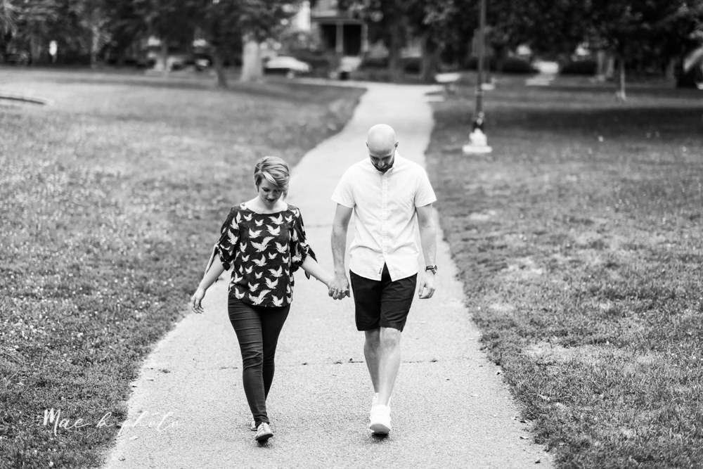 taylor and jame's summer engagement session in german village the loft bookstore and schiller park in columbus ohio photographed by youngstown wedding photographer mae b photo-37.jpg