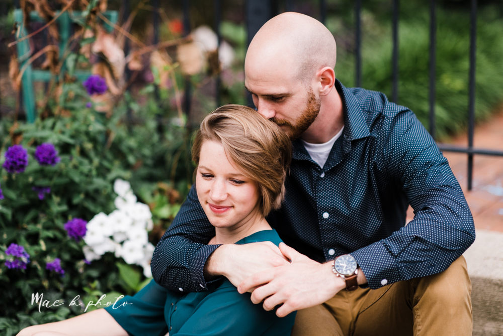 taylor and jame's summer engagement session in german village the loft bookstore and schiller park in columbus ohio photographed by youngstown wedding photographer mae b photo-32.jpg