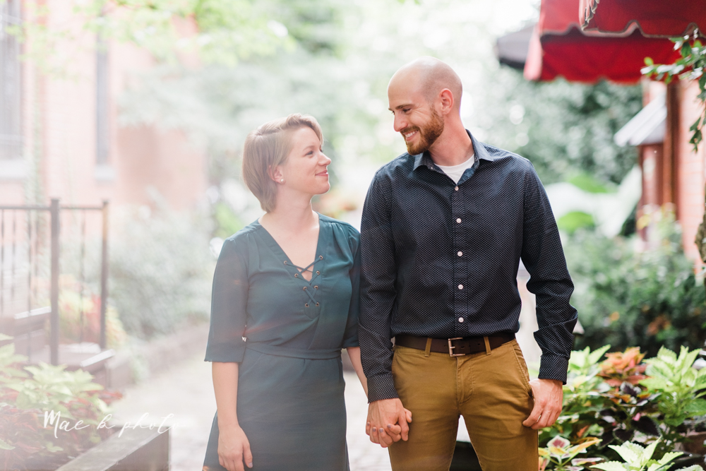 taylor and jame's summer engagement session in german village the loft bookstore and schiller park in columbus ohio photographed by youngstown wedding photographer mae b photo-15.jpg