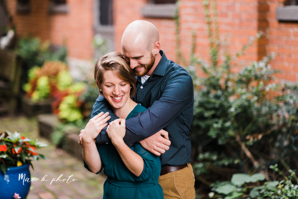 taylor and jame's summer engagement session in german village the loft bookstore and schiller park in columbus ohio photographed by youngstown wedding photographer mae b photo-13.jpg